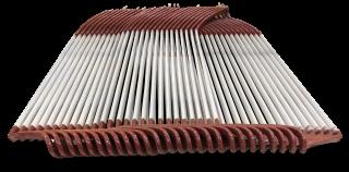 Generator coils manufactured for wind turbine